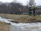 Kv�li velk� vod� hasi�i �e�ili v Karlovarsk�m kraji z p�tku na sobotu zhruba 20