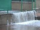 Velk� voda v Karlovarsk�m kraji (5. ledna 2013)