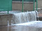 Velká voda v Karlovarském kraji (5. ledna 2013)