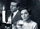Jiřina Jirásková v hořké komedii Václava Gajera Jak se zbavit Helenky (1967)