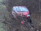 Hromadná nehoda na zledovatělé silnici mezi Ostravou a Frýdkem-Místkem. (2.