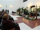 Do brněnského krematoria se se spisovatelkou přišli rozloučit příbuzní, přátelé