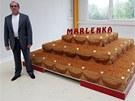 Gevorg Avetisyan, majitel firmy Miko vyrábějící medovník Marlenka, v novém