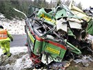 Kamion s rakouskou registra�n� zna�kou ��dil �estapades�tilet� �idi� z N�mecka.