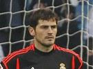 Iker Casillas v dresu Realu Madrid