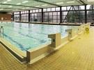 Nově otevřený plavecký bazén v Plzni na Lochotíně.