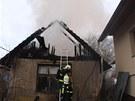 Požár na Klabalských pasekách