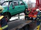 Policisté předběžně odhadli škodu na vozidle na 20 tisíc korun.