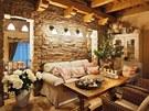 Prapůvodní inspiraci pro svůj domov čerpala  Šárka  v  Provence.  Impulsem jí