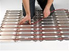 Systém devicell umožňuje jednoduchou instalaci elektrického podlahového