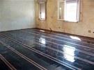 Topné folie Ecofilm F jsou určeny jako podlahové vytápění do  suchých