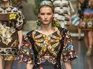 Mix vzorů: Dolce&Gabbana