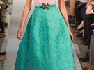Nápadné maxi sukně: Oscar de la Renta