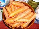 V akci byla i čerstvá mrkev, jeden kilogram na 8,90 korun.