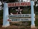 Největším symbolem kubánské revoluce je Che Guevara, jehož portréty zdobí ulice