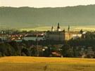 Broumov s benediktinským klášterem.