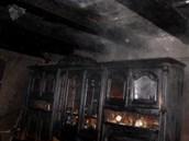 Požár rodinného domu v Novém Jičíně-Žilině. (30. října 2012)