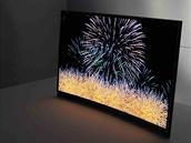 Prohnutý OLED Samsung