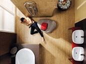 Keramická dlažba je nejužívanější krytinou pro podlahové vytápění. Její vhodnost je dána velmi dobrou vodivostí tepla, akumulační schopností a odolností vůči vyšším teplotám. Série Noe značky RAKO navíc dokáže imitovat dřevo, spojuje tak vzhled přírodního materiálu s přednostmi keramické dlažby.