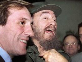 Gérard Depardieu se setkal s Fidelem Castrem.