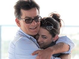 Charlie Sheen a pornoherečka Georgia Jonesová