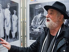 Uznávaný a cenami ověnčený fotograf Jindřich Štreit.