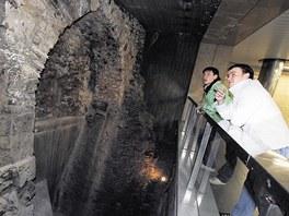 St�edov�k� op�vn�n� Star�ho M�sta objevili archeologov� p�i hlouben� metra v