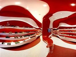 Obchod s botami Camper ve španělské Granadě navrhli tamní architekti A-cero.