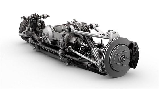Corvette Stingray - zadní náprava