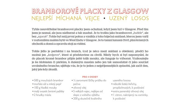 Recept na bramborové placky z Glasgow podle Jamieho Olivera