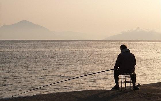 Poklidný život na řeckém ostrově Ikaria