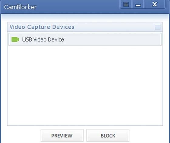 WOLFCODERS CamBlocker zablokuje použití webkamery nepovolanými uživateli, kteří