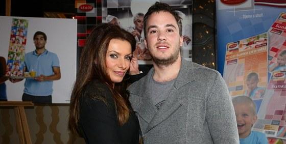 Alice Bendová a její přítel Michal Topol