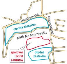 Spalovna zvířat na pražském Zličíně