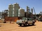 Podnik na zpracování plynu v Alžírsku, na který zaútočili islamisté a vzali