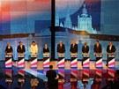 Prezidentská debata v pražském Kongresovém paláci (10. ledna 2013)