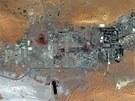Plynárenský komplex u alžírského Aj Amanásu