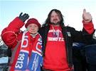 Fanoušci brněnské fotbalové Zbrojovky uspořádali ke století klubu pochod za