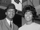 James Hood a Vivian Maloneov� na sn�mku z 9. �ervna 1963