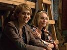 Ester Janečková a Olga Sommerová při natáčení pořadu Tajemství rodu