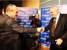 Miloš Zeman a Karel Schwarzenberg se utkali v prezidentské debatě ve
