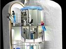 P�vodn� podoba nafukovac�ho modulu Transhab od NASA