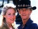 Paul Hogan a Linda Kozlowski se dali dohromady při natáčení filmu Krokodýl