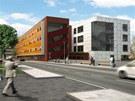 Vizualizace Centra polymerních systémů, které se začne stavět v ulici Jana