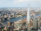 Londýnský mrakodrap Střep (The Shard) otevře již za pár týdnů pro veřejnost.
