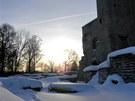 Okolí kláštera Brigitek