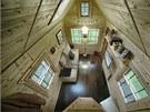 Obydlí manželů Tackových ze Spojených států má pouhých 13 metrů čtverečních...