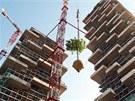 Projekt nazvan� Bosco Verticale navrhl slavn� italsk� architekt Stefano Boeri.