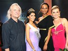 Bořek Šípek, Miss Expat 2012 Paula Alejandra Gonzalez, Lejla Abbasová a Leona