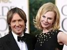 Keith Urban a Nicole Kidmanov� (Zlat� gl�by, 13. ledna 2013)